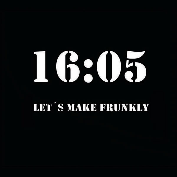 LET'S MAKE FRUNKLY